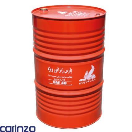 روغن موتور دیزلی پارس ژنراتور ویژه محصولی از شرکت نفت پارس موجود در فروشگاه اینترنتی کارینزو
