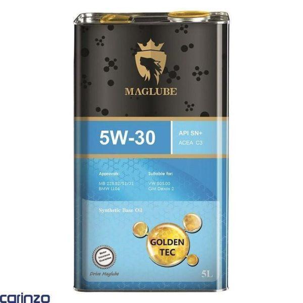روغن موتور مگلوب محصولی از شرکت نفت سپاهان تحت لیسانس افا اویل اتریش مدل 5W30SN+