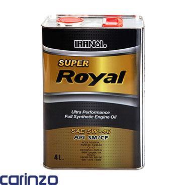 فروشگاه اینترنتی کارینزو روغن موتور سوپر رویال