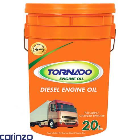 روغن موتور دیزلی تورنادو موجود در فروشگاه اینترنتی کارینزو تنها مرجع فروش و توزیع مویرگی روغن موتور در ایران