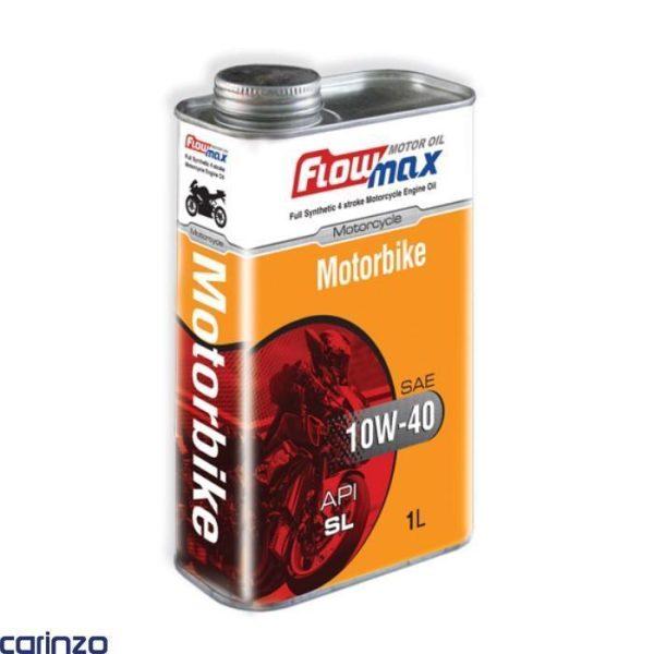 روغن موتور فلومکس مدل موتور بایک موجود در فروشگاه اینترنتی کارینزو