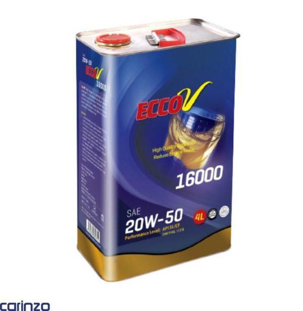 روفن موتور اکووی مدل 16000 20W50 حجم 4 لیتر موجود در فروشگاه اینترنتی کارینزو