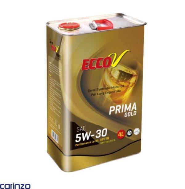روغن موتور اکو وی مدل پریما گلد موجود در فروشگاه اینترنتی کارینزو