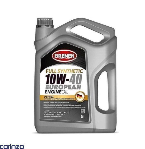 روغن موتور برمن آلمان مدل 10W40 SN موجود در فروشگاه اینترنتی کارینزو