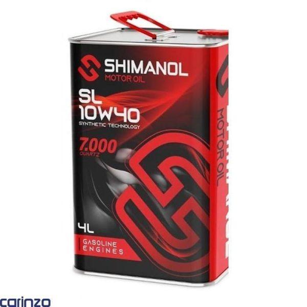 روغن موتور شیمانول مدل 10W40SL چهارلیتری موجود در فروشگاه اینترنتی کارینزو