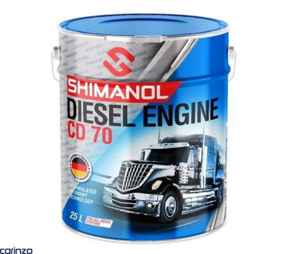 روغن موتور دیزلی 70 شیمانول 25 لیتری کارینزو